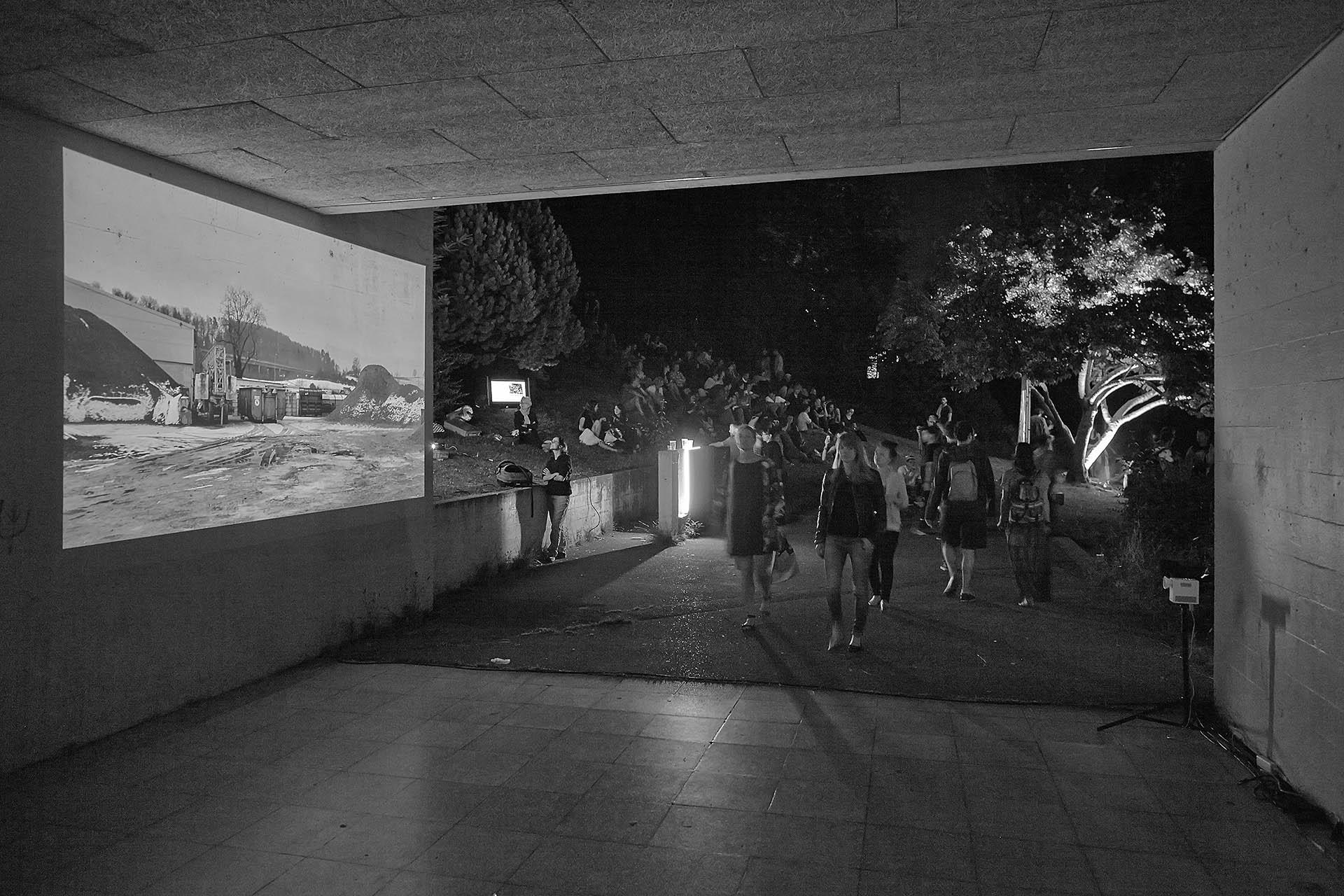 Video Werkhof | Kunstmuseum Thun | Jardin du Musée de l'Elysée | 2015