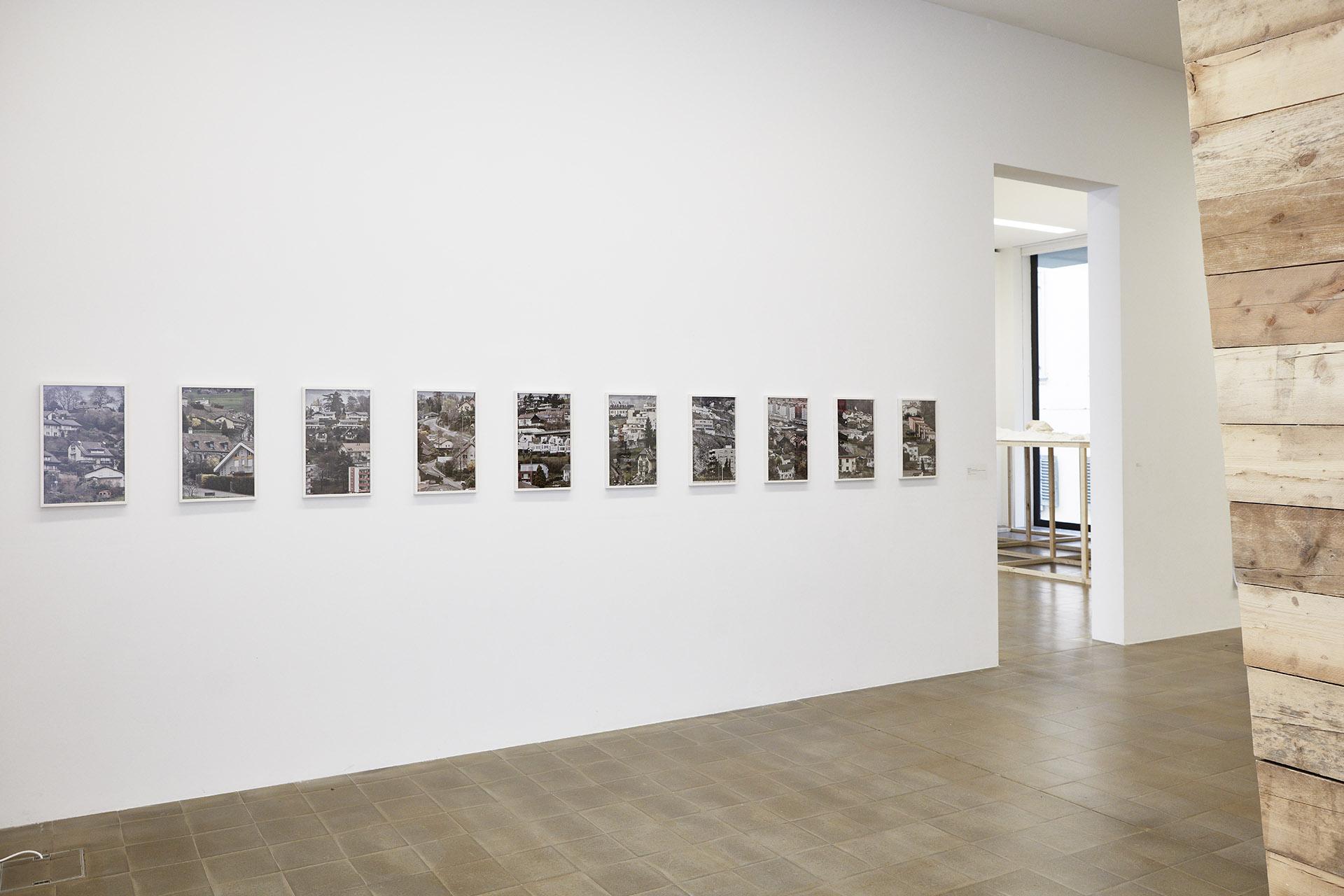 Auszug aus der Serie Raumordnung | Äschlimann Corti Stipendium | Centre Pasquart Biel | 2016